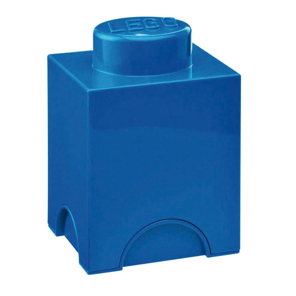 LEGO - Storage Brick 1 Blue