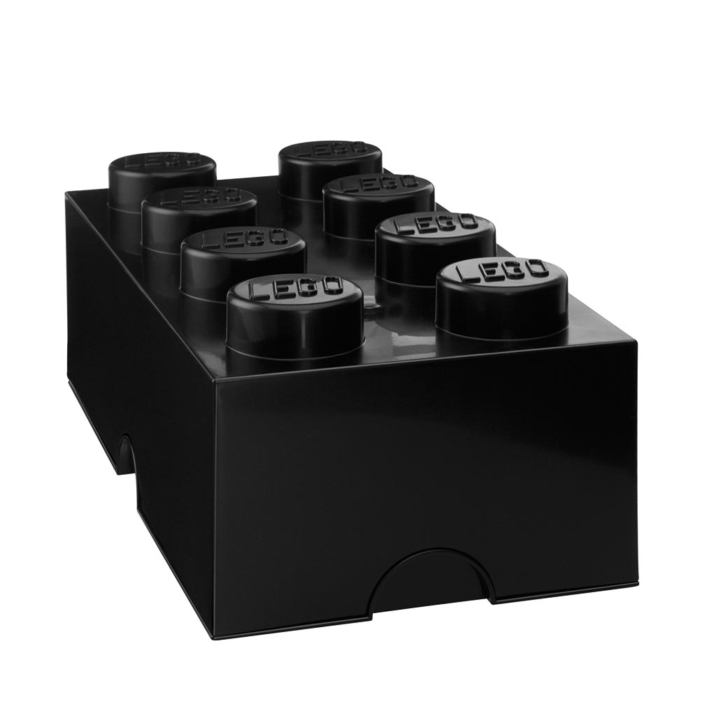 LEGO - Storage Brick 8 Black