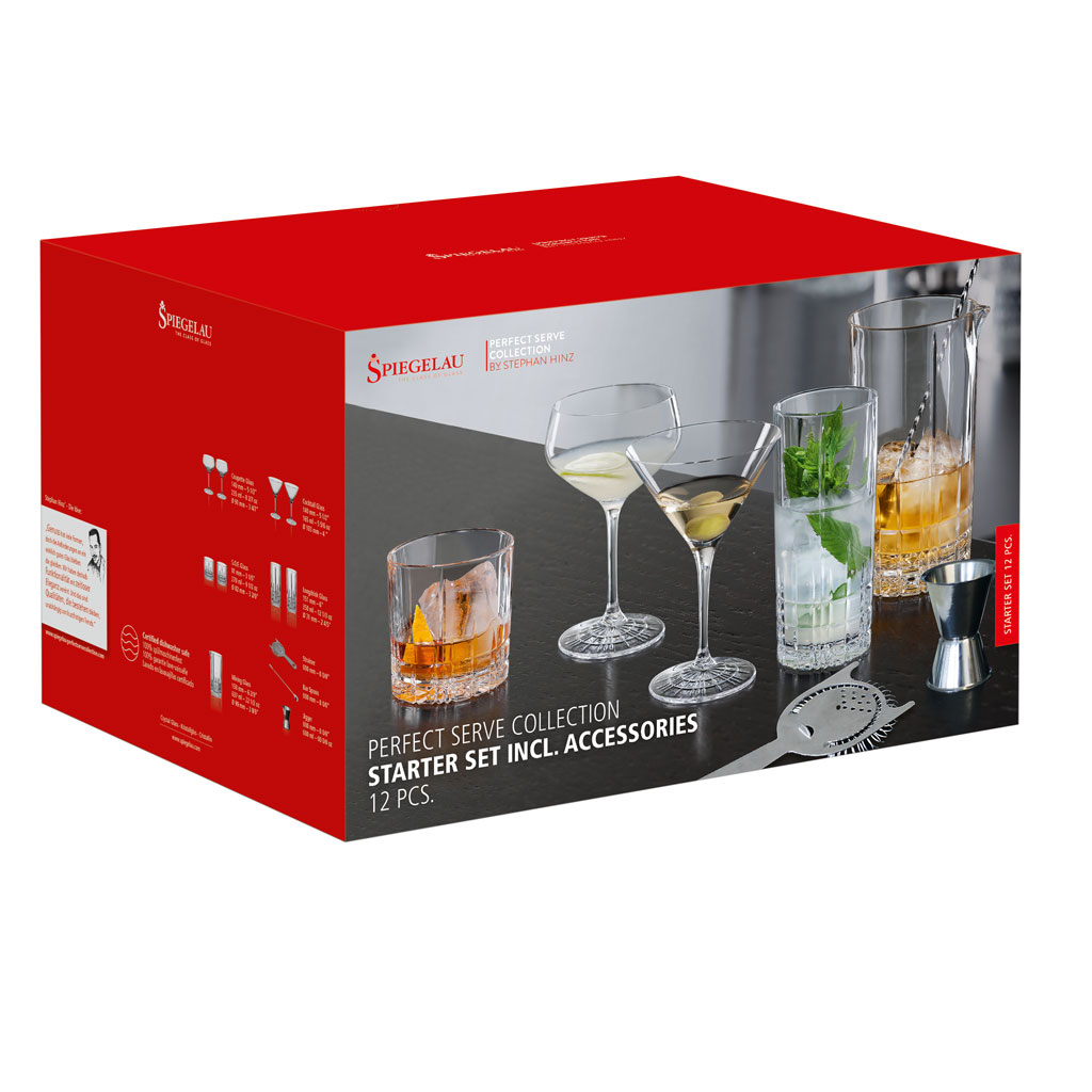 Spiegelau - Perfect Serve Starter Set