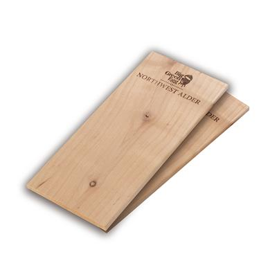 Alder Wooden Grilling Planks - Set due assi per affumicare in ontano