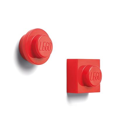 LEGO - Set 2 magneti Red