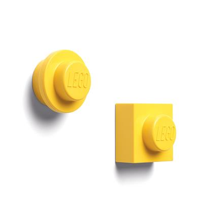LEGO - Set 2 magneti Yellow