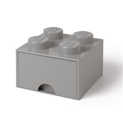 LEGO - Brick Drawer 4 Grey