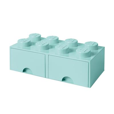 LEGO - Brick Drawer 8 Light Blue