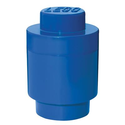 LEGO - Storage Brick 1 Round Blue