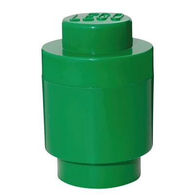 LEGO - Storage Brick 1 Round Green