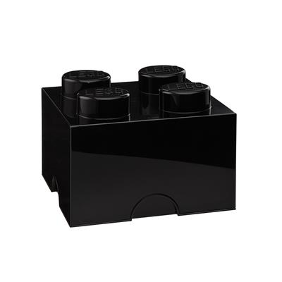 LEGO - Storage Brick 4 Black