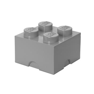 LEGO - Storage Brick 4 Grey