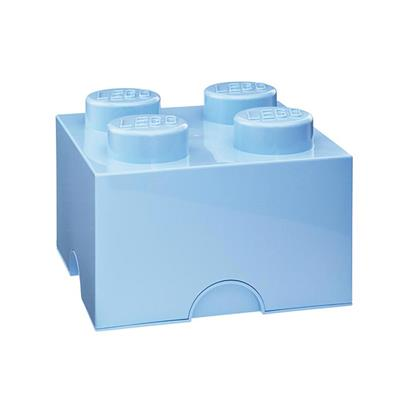 LEGO - Storage Brick 4 Light Blue