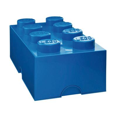 LEGO - Storage Brick 8 Blue