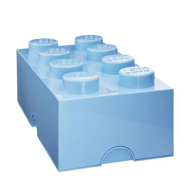 LEGO - Storage Brick 8 Light Blue