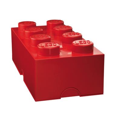 LEGO - Storage Brick 8 Red