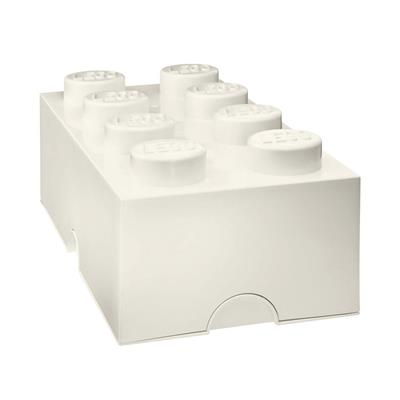 LEGO - Storage Brick 8 White