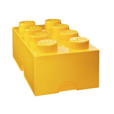 LEGO - Storage Brick 8 Yellow
