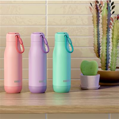 Zoku - Stainless Steel Bottle 500ml Lavanda